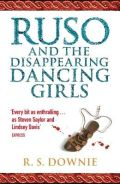 UK cover of Ruso and the Disappearing Dancing Girls, by Ruth Downie