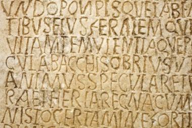 Roman engraving