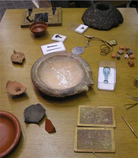 Items from Verulamium Museum