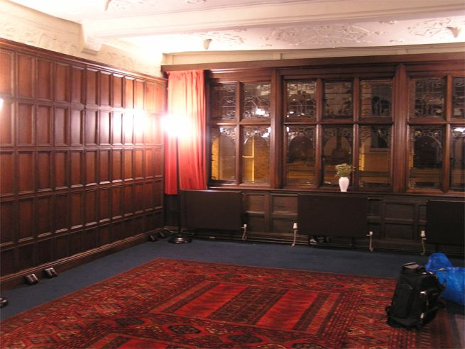Inside Bishop Lloyd's Palace, Chester
