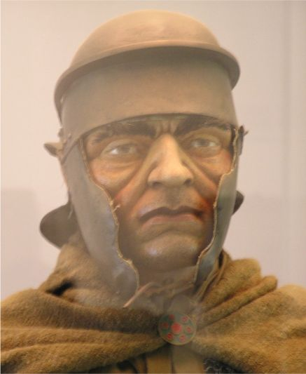 Model of soldier at Housesteads museum