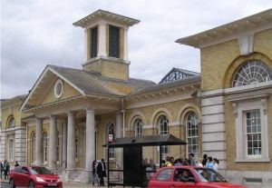 Once a Corn Exchange, a market, a roller rink, a cinema... now Winchester Discovery Centre