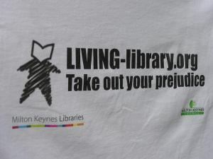 Teeshirt with Living Library logo