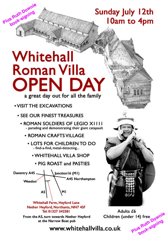 Poster for Whitehall Villa Open Day