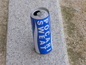 Can of Pocari Sweat soft drink