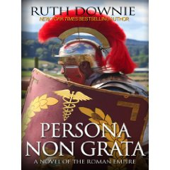 Picture of legionary re-enactor on book cover