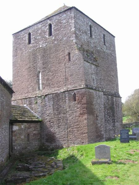 Tower of Garway church