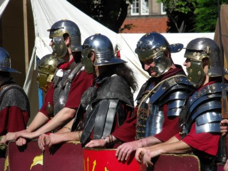 Legionaries. Don't ask me which legion.