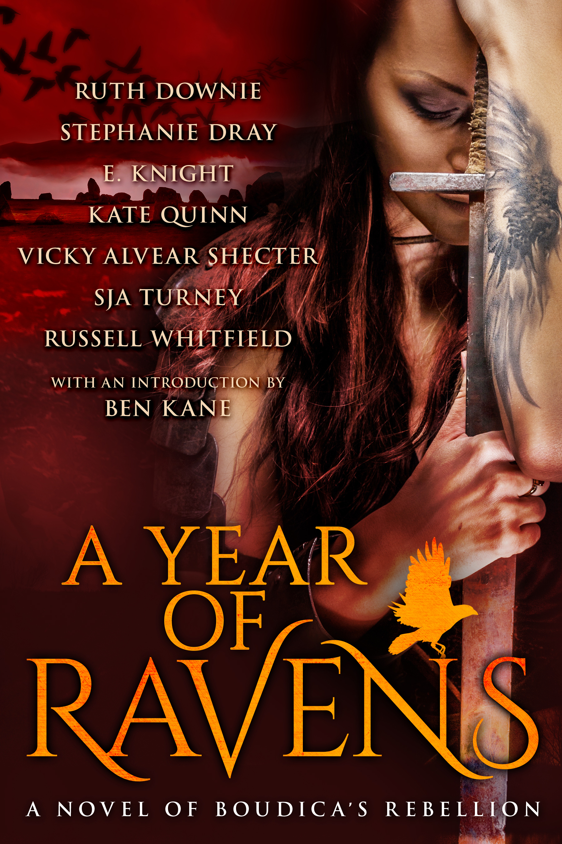 Cover Of A Year Of Ravens