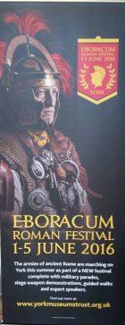Poster for Eboracum Roman Festival