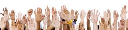 Hands raised Copyright: <a href='http://www.123rf.com/profile_rawpixel'>rawpixel / 123RF Stock Photo</a>