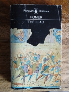 Cover of Penguin edition of The Iliad