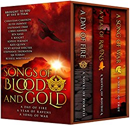 cover of SONGS OF BLOOD AND GOLD