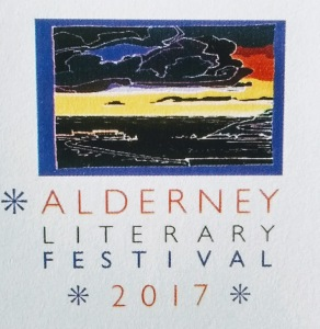 Logo for Alderney Literary Festival