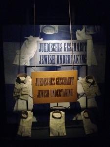 Sign in Jewish shop