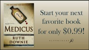 "MEDICUS book cover with ""Start your next favourite book for only $0.99!"""