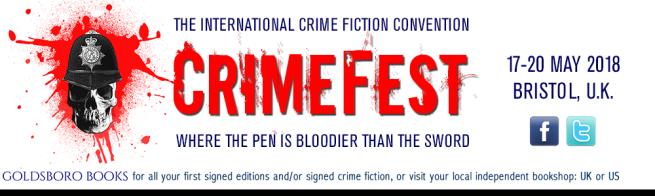Crimefest 2018 banner