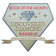Discovering Diamonds Book of the Month runner-up logo