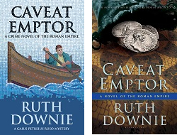 UK and US covers of CAVEAT EMPTOR