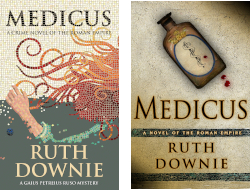 UK and US covers of MEDICUS
