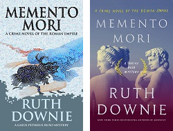 UK and US covers of MEMENTO MORI