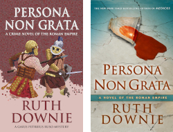 UK and US covers of PERSONA NON GRATA