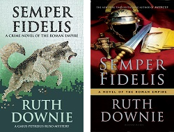 UK and US covers of SEMPER FIDELIS