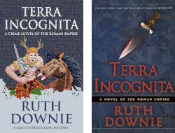 UK and US covers ofTerra Incognita