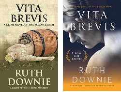 UK & US covers of VITA BREVIS