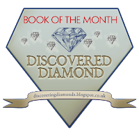 Book of the Month logo from Discovering Diamonds